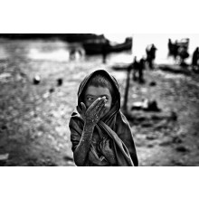 A girl from Hatiya Island situated in northern bay of Bengal is a climate prone area of Bangladesh.